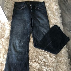 Stylish 7 For All Mankind Jeans.